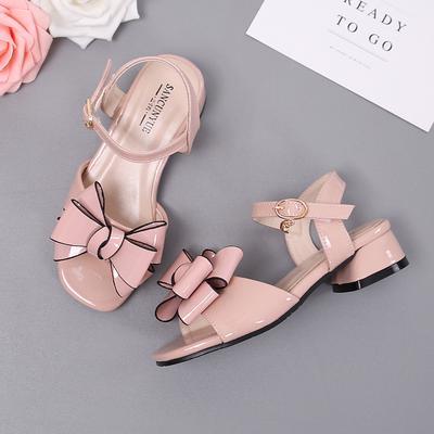 Outdooor Wm Comfortable  Girls Sandals 2020 New Summer Children Open -Toed Big Girl Baby Princess
