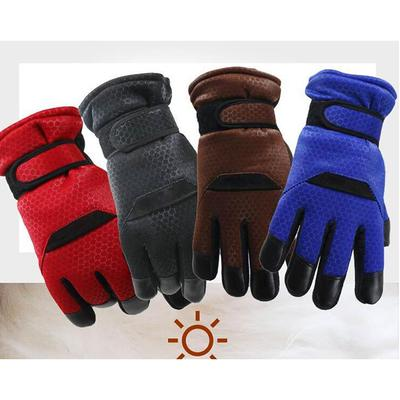 Back To Search Resultsapparel Accessories Leather Winter Gloves Genuine Leather Sheepskin Gloves Men Warm Brand Mittens Touch Screen Mittens For Men Black Color G316