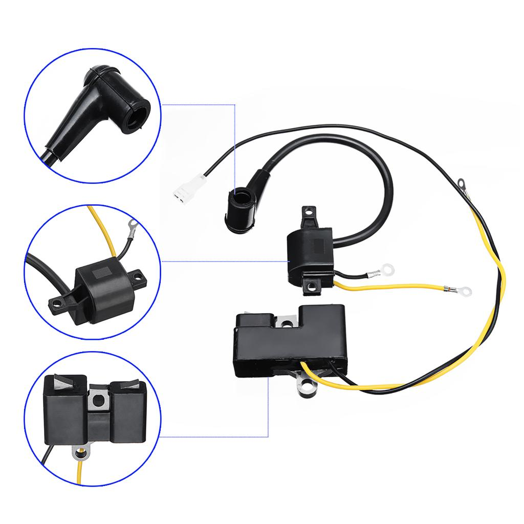 Ignition Coil For Husqvarna 61 162 Jonsered 630 Chainsaw Old Type Part 501516201
