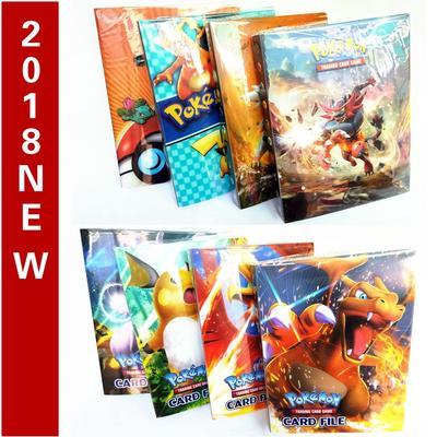 240 card spots Pokemon Cards Album Book Card Holder Collectors Folder Pyroar