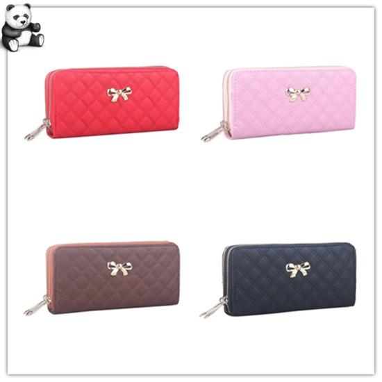 Women Cat Wallet Purse Ladies Zip Long Clutch Handbag Coin Card Holder FG