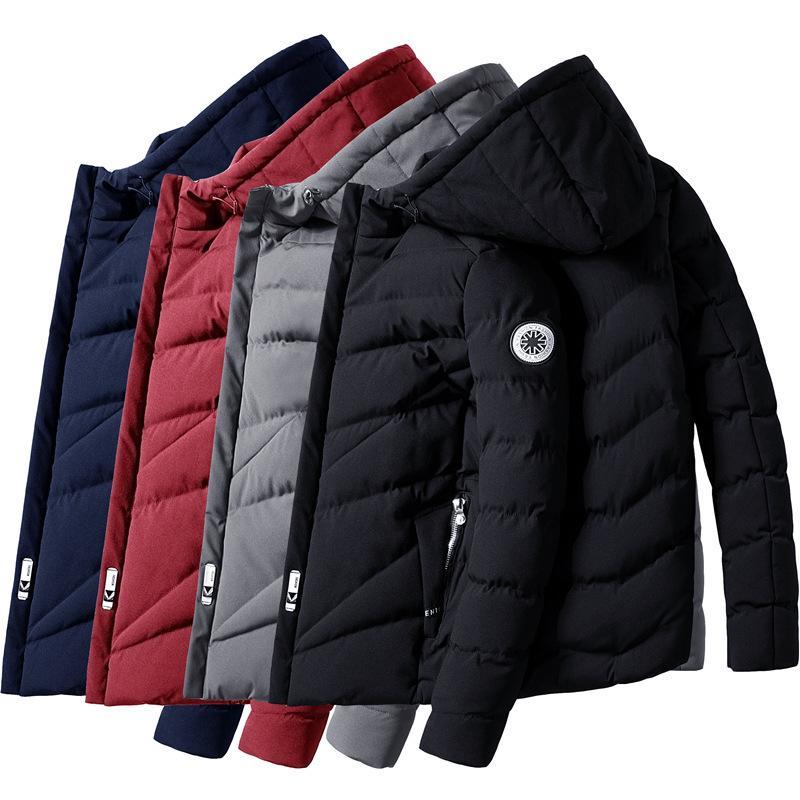 Men/'s Women Winter Slim Warm Jacket Couple Cotton coat fleece Parka outwear Coat