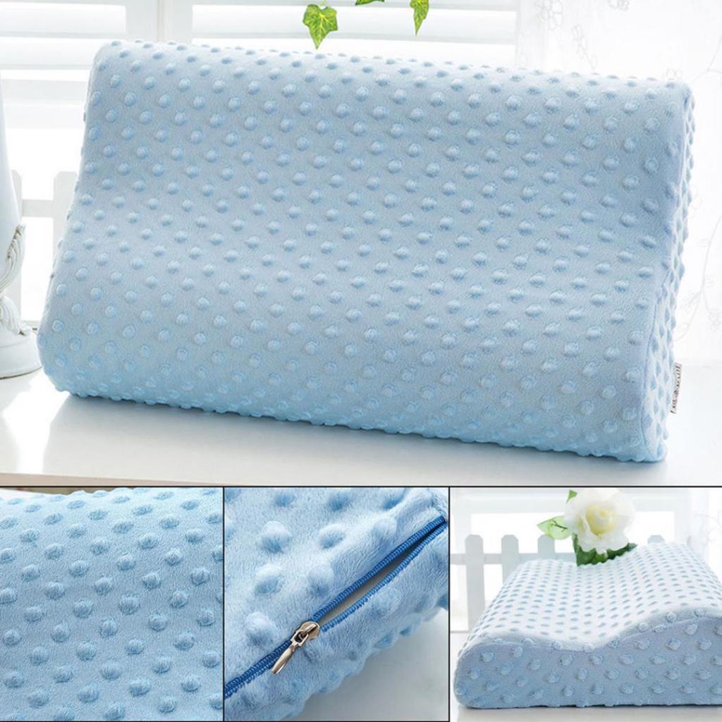 Memory Foam Orthopedic Pillow Slow Rebound Neck Soft Cervical Health Care