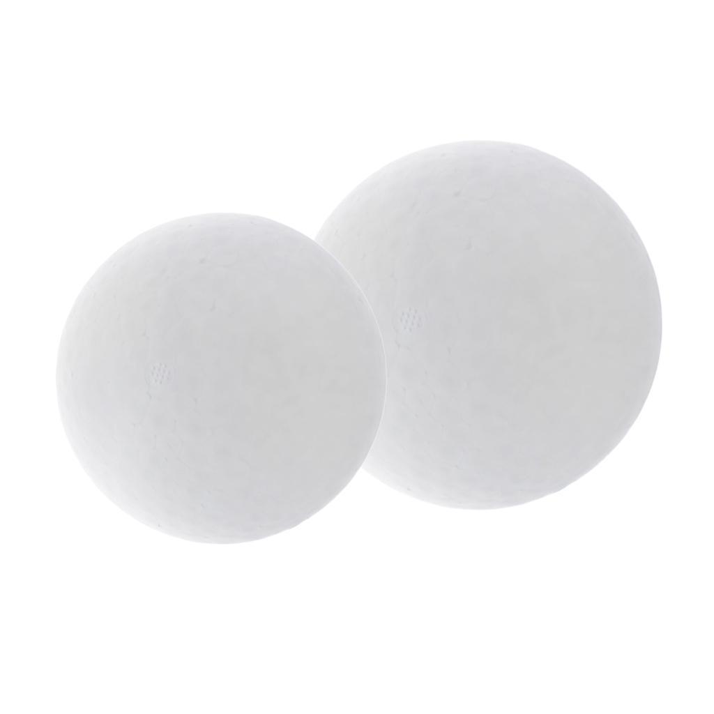 80mm White Solid Styrofoam Balls Modelling Polystyrene Eggs Sphere 10 Packs