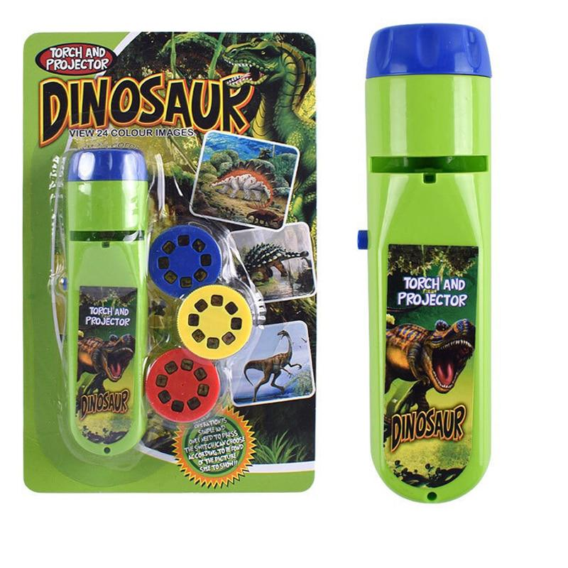 Toys for 4-6 Year Old Kids Projector Torch Projection Flashlight Light Boys Gift