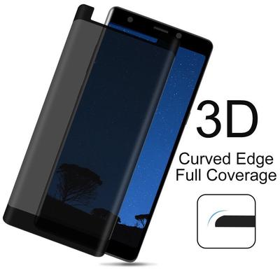 4Pcs Privacy 3D Full Screen Protector Anti-Spy Tempered Glass Guard