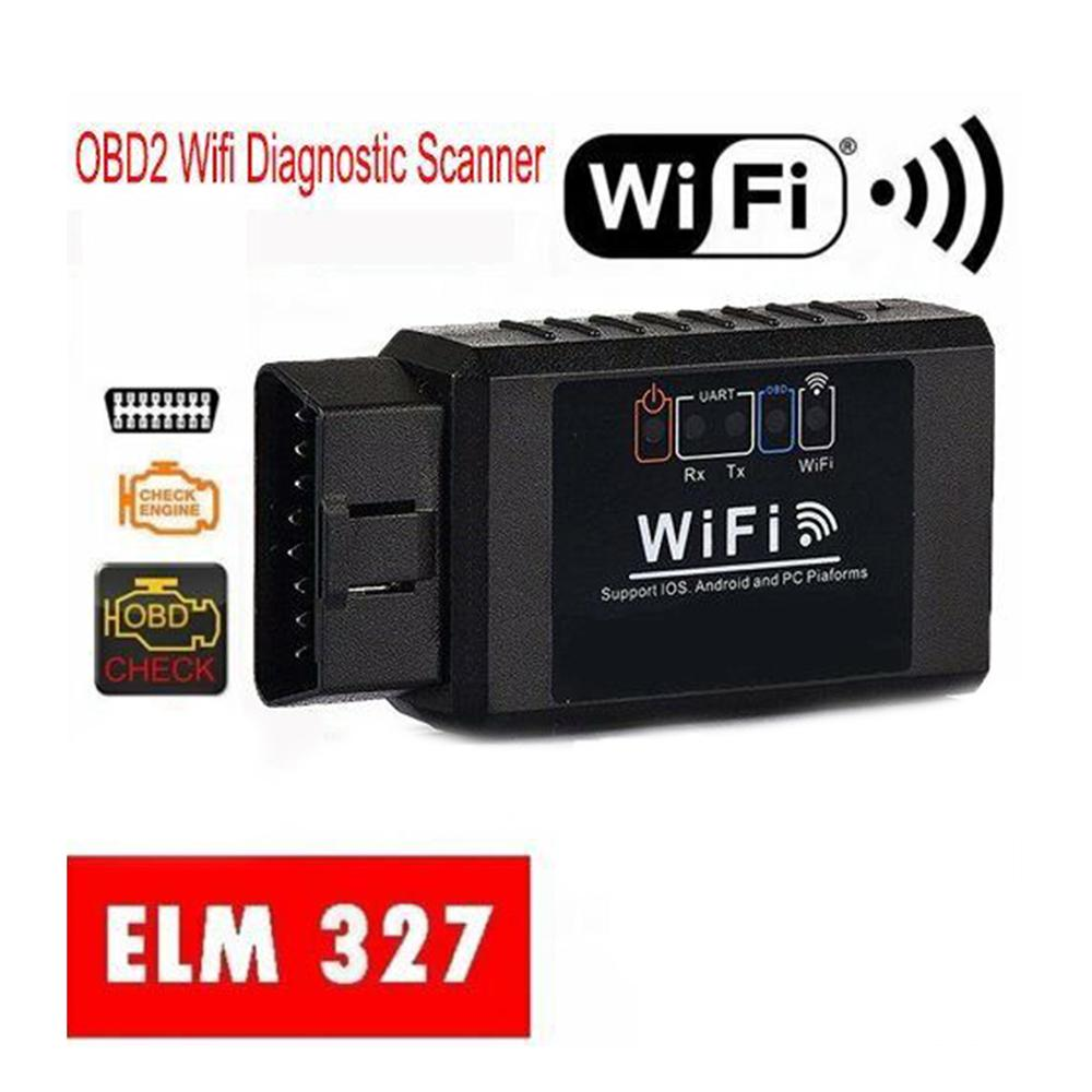 ELM327 WiFi Bluetooth OBD2 Car Diagnostic Scanner Code Reader For IOS Android