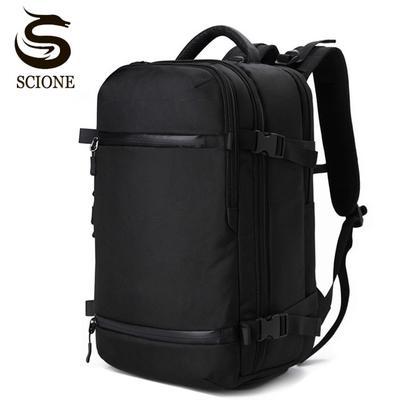 USB Charging Backpack Men travel pack Bag Luggage Large Capacity laptop  Waterproof Multi-functional 923ff8840fab3