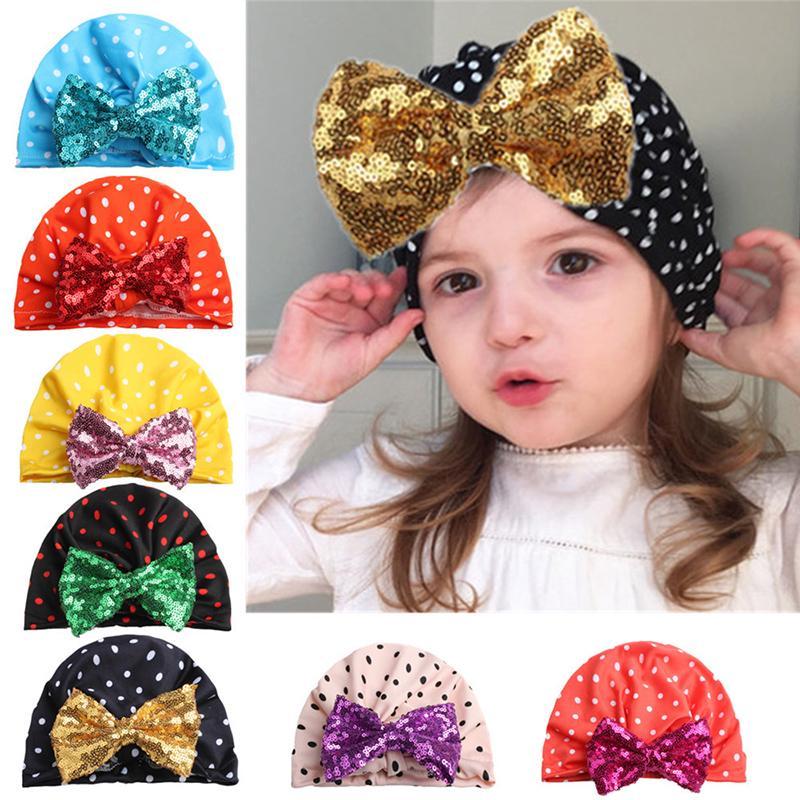 Scarf Warp Cute Baby Toddler Kids Boys Girls Milk Silk Cartoon Hat Cap Beanie