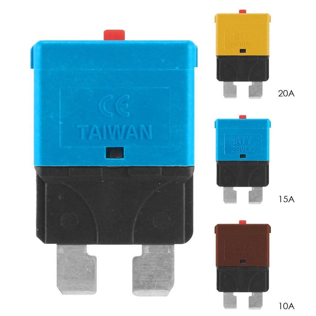 4 6 8 10 12 VIE circuito Fusibile lama standard Box Holder Universale con Copertura