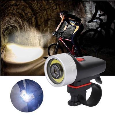 Waterproof Bicycle Light USB Charging Cycling Flashlight Bike Riding Front Lamp