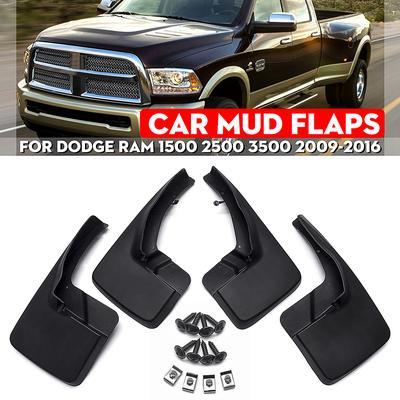 4x Mud Flaps Mudflaps Mudguards Splash Guards For Ram pickup 1500 2500