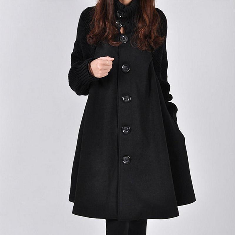 454cb3d008d Осень зима мода случайные битой пальто женщин потерять хлопка куртки ...