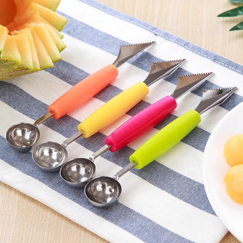 graben gurke wassermelone bar geschnitzte frucht melone küche werkzeug ball