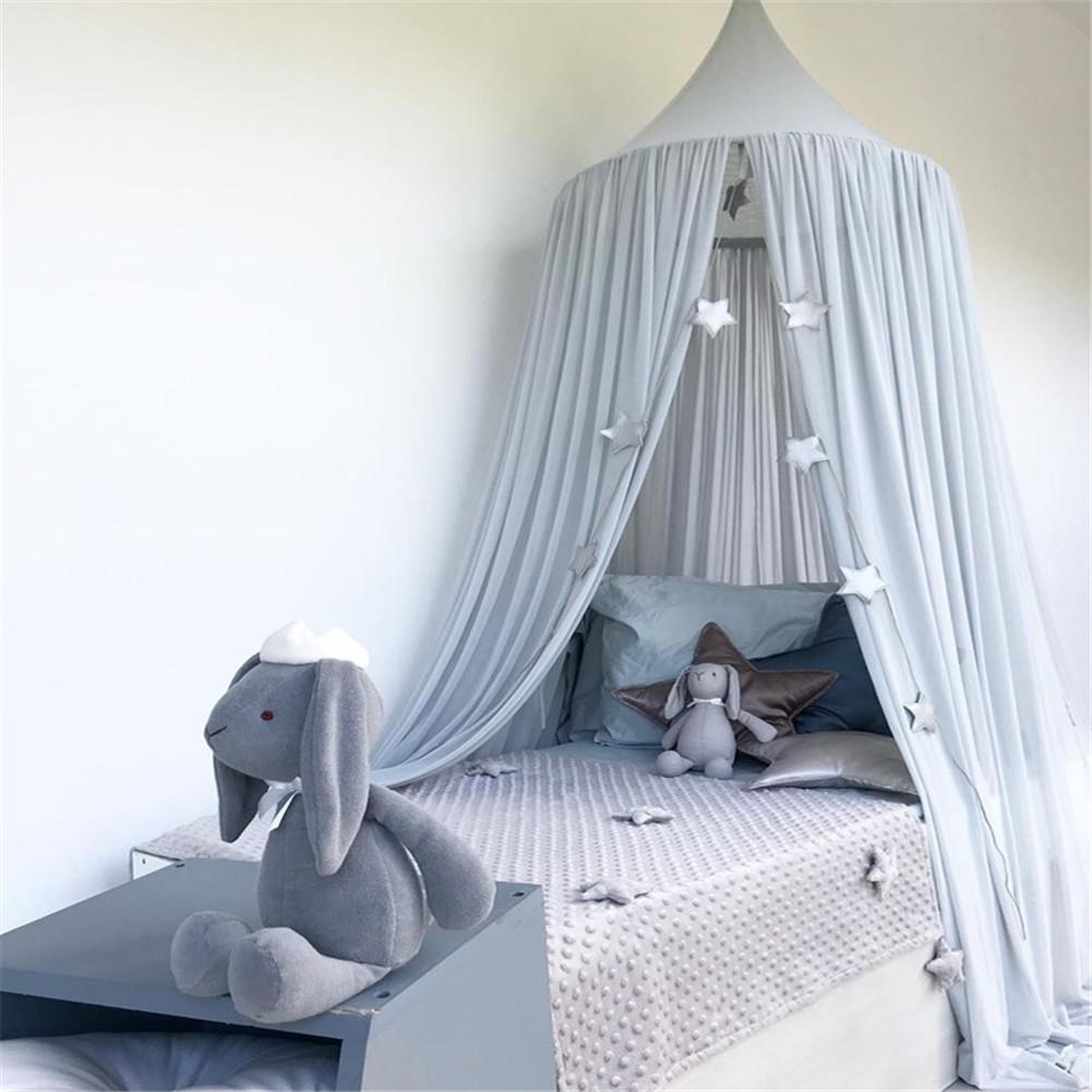 Bed Canopy w// curtain Play Tent Mosquito Net Home Room Decor Play House Toy Prop