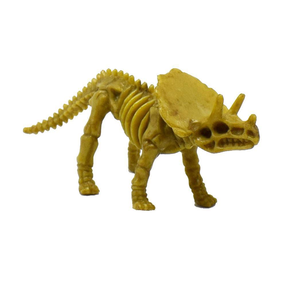 4pcs//set Dinosaur Toys Fossil Skeleton Simulation Model Set Mini Educational Toy