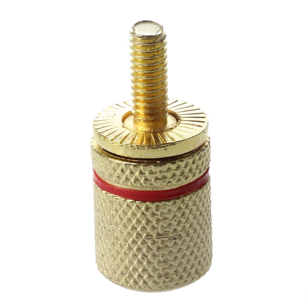 4 x 4 mm Draht Kabel Lautsprecher, Stamm Bananen Stecker (weiblich ...