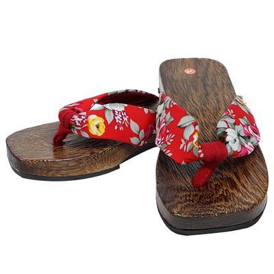 083e30fcb9fd8c Letnie buty na platformie Drewniane damskie sandały drewniaki Drewniane  klapki Flip Flops Fashion Mall