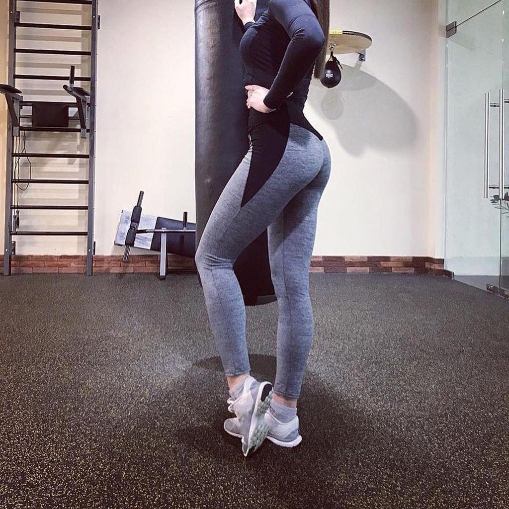 Yoga Pant Woman Workout Noctilucent Leggings Sportswear For Bodybuilding Fitness