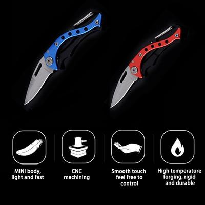 Key Rings Key Ring Key Rings Key Rings Key Rings Outdoor Folding Multifunctional Military Tactical Survival Knife Keychain Campin