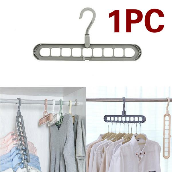 1 PCS Multi-порт поддержки Круг Одежда вешалка сушилка Многофункциональный Пластиковый шарф хранения стойки фото