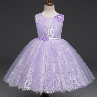 cad514b773 Dziewczyny Sukienki Dzieci Suknia Urodziny Księżniczka Suknia ślubna  Chrzest Toddler Boże Narodzenie Kostium