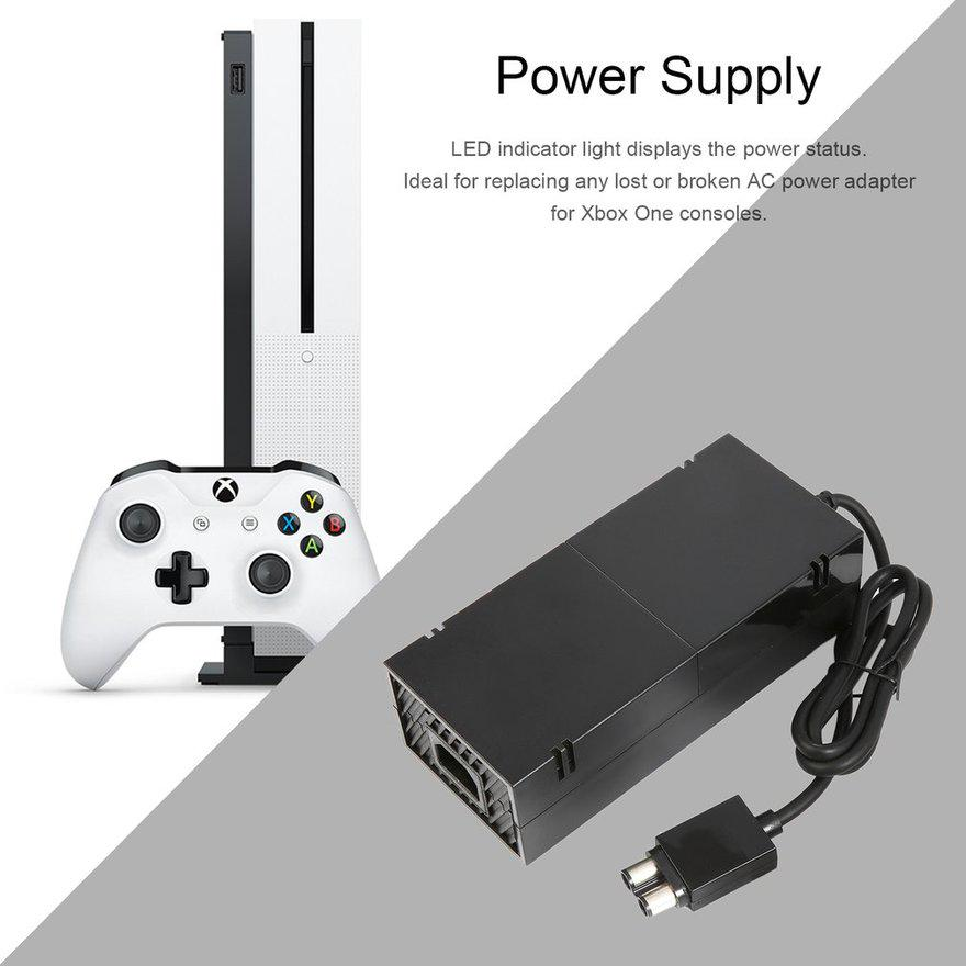 AC Adapter Power Supply Cord Charger for XBOX 360 Slim Console Host Adaptor  FE