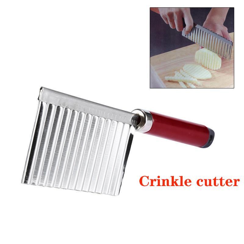 Couteau Vague Pomme Terre Végétale Acier Cutter Cuisine Outil Multifonction Mode