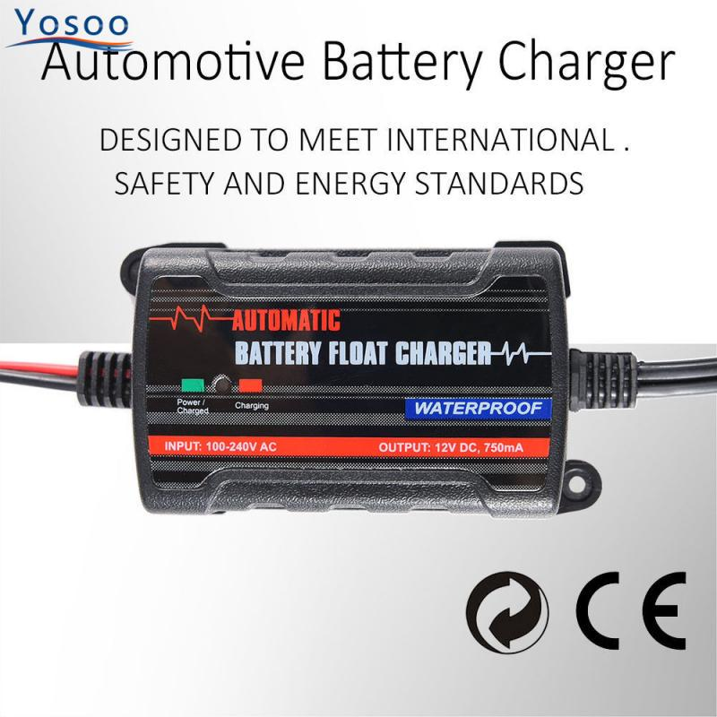 0.75A Lead Acid Battery Maintainer//Protector 12V Car ATV Float Battery Charger