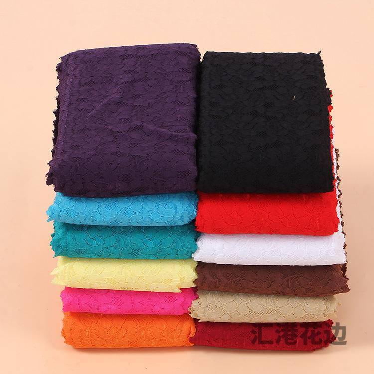 1 ярдов растянуть кружева упругой ободки Craft Швейные DIY Handmade ленты фото