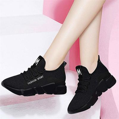 85d8b8777 Spring New Women casual shoes fashion breathable Walking mesh lace up flat shoes  sneakers women