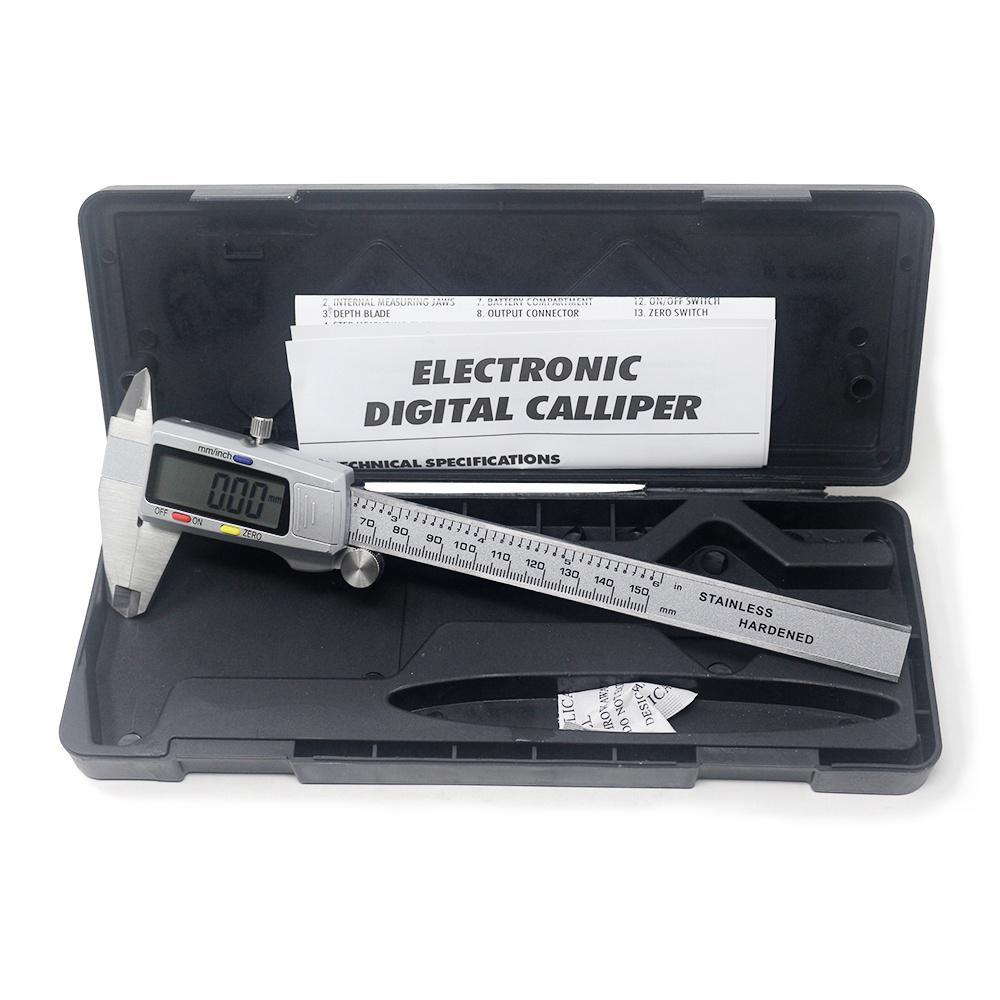 150mm Electronic Digital Caliper 6 Inch Stainless Steel Vernier Caliper Measuring Tool Buy From 14 On Joom E Commerce Platform