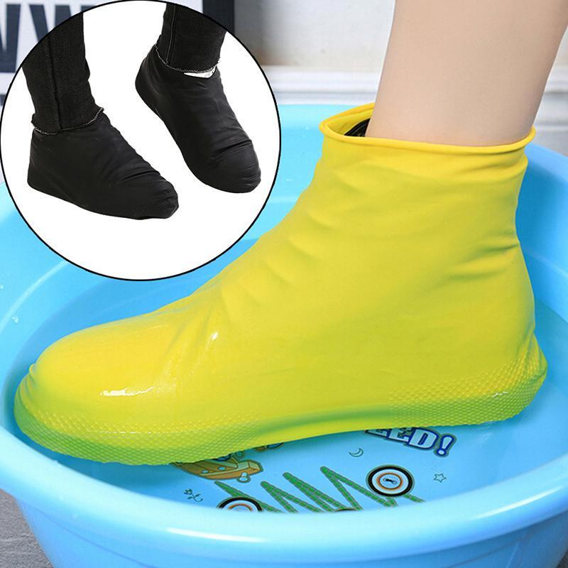 Anti-slip Waterproof Shoe Cover Reusable Rain Boot Motorcycle Overshoe Newly