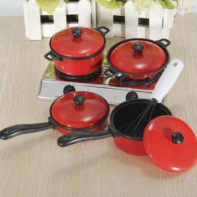 13Pcs Mainan Peralatan Dapur Untuk Anak Bermain Peran