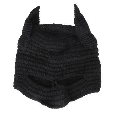 Winter Mütze Häkeln Cool Cosplay Maske Gestrickte Mützen Helm