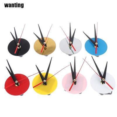 Acrylic Wall Clock Cross Stitch Movement Dial Accessories Watch Movement