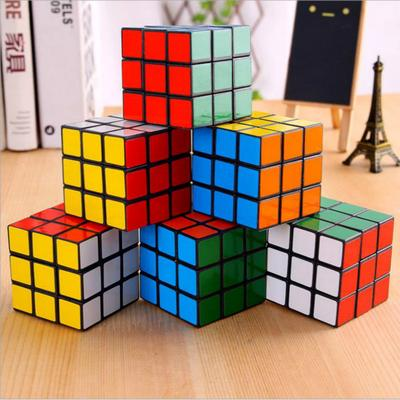 Mini Funny Magic Cube Rubics Game Puzzle Reduced Pressure Key Ring Key Chain