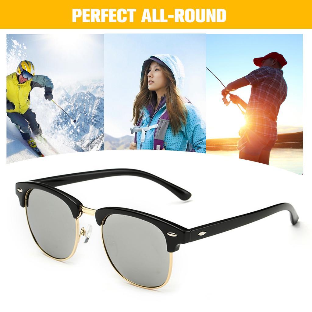 PERFE Polarized Men/'s Sunglasses Outdoor Riding Fishing Classic Summer Glasses