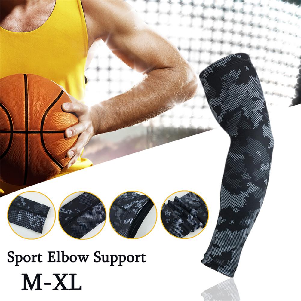 1Pc Arm Running Basketball Sleeves Fitness Sports Sleeve Outdoor Compression