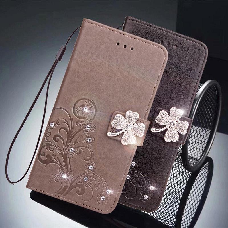 Роскошь флип кожаный телефона бумажник карты слоты магнит чехол для iPhone Huawei Samsung Xiaomi Meizu фото
