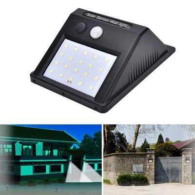 COB 100LED Solar Lamp Motion Sensor Waterproof Outdoor Path Night Lighting  HG#