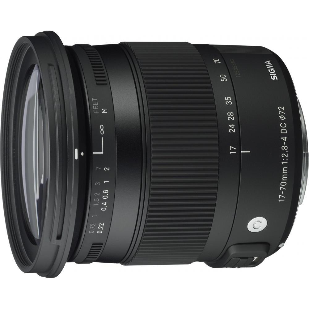 Зум-объектив SIGMA Contemporary 17-70mm F2.8-4 DC MACRO HSM Sony для APS-C-only 884628 – купить по низким ценам в интернет-магазине Joom