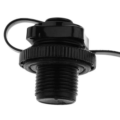 Air Valve Caps Screw For Inflatable Boat Outdoor Fishing Boats Raft Airbed Black