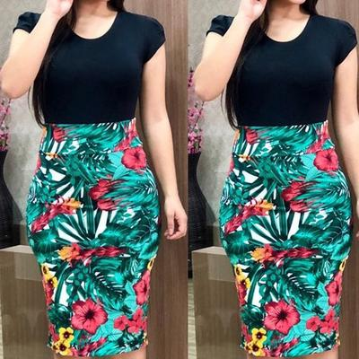 4b38a68065f Женщины цвет соответствующий пакет хип платье