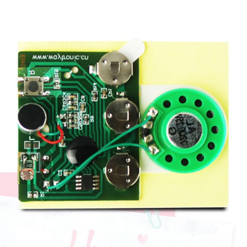 30s Greeting Card Recordable Voice Sound Module Chip With Speaker+Microphone