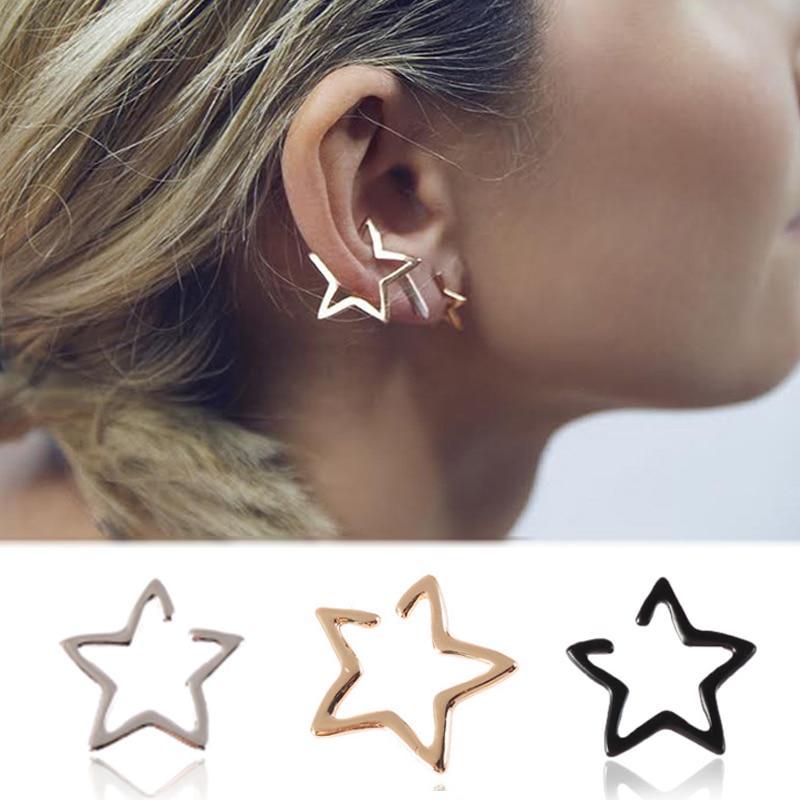Acrylic Irregular Hoop Earrings Acetate Mottled Earrings Circle Round Statement Stud Earrings Women Girls Jewelry