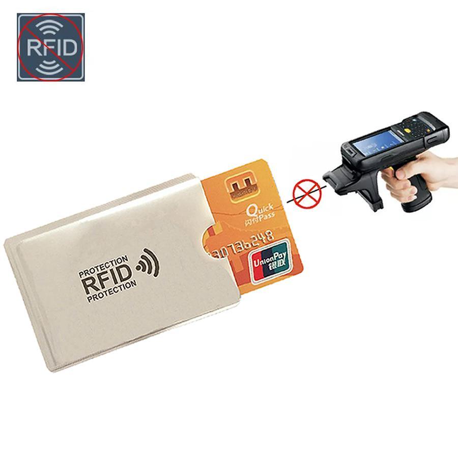 Бумажник для безопасного хранения банковских карт 6*9,3 см фото