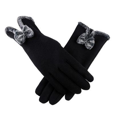 Moda mujer invierno cálido guantes mujer damas chicas pantalla ...