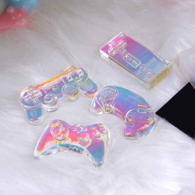 Game Console Pendant Crystal Resin Mould Epoxy Silicone Mold Jewelry Making