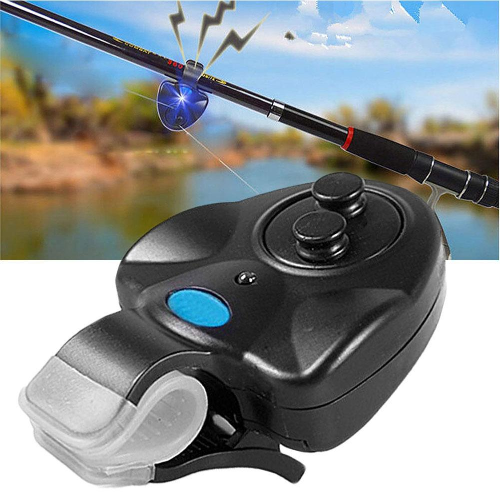 Electronic Fishing Alarm LED Light Buffer Waterproof Bite Sound Bluetooth Smart